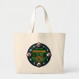Baseball Stadium Canvas Bags