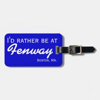 Baseball Stadium Customized Luggage Tag for Travel