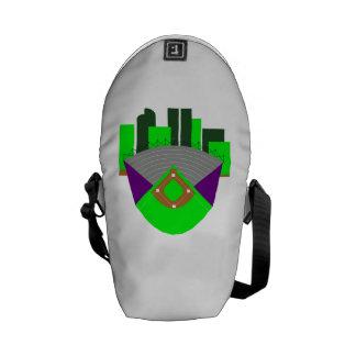 Baseball Stadium Messenger Bags