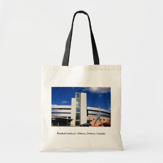 Baseball stadium, Ottawa, Ontario, Canada Canvas Bag