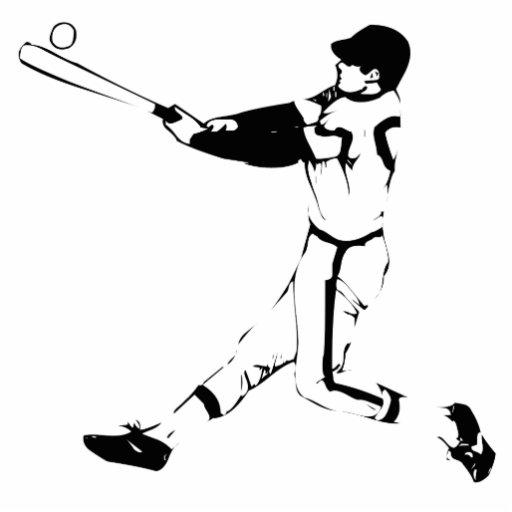 Baseball Standing Photo Sculpture