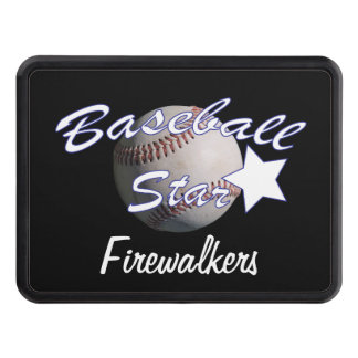 Baseball Star Tow Hitch Cover