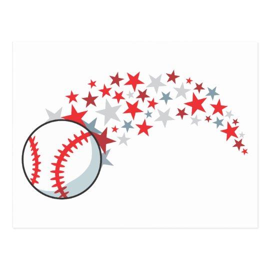 Baseball Star Postcard