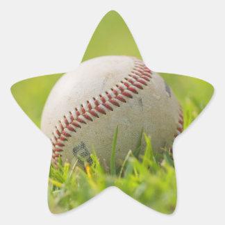Baseball Star Sticker