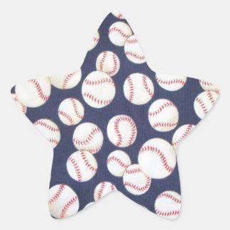 Baseball Star Stickers