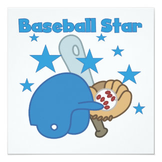 Baseball Star T-shirts and Gifts Card