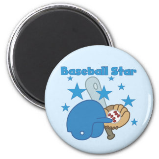 Baseball Star T-shirts and Gifts Magnet