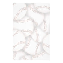 Baseball Stationery