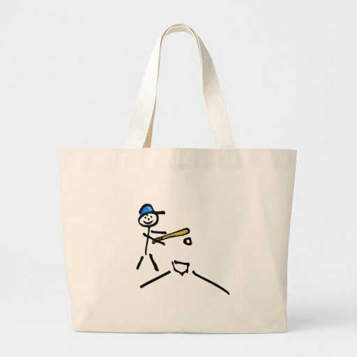 Baseball Stick Figure Bag