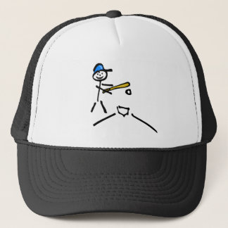 Baseball (Stick Figure) Trucker Hat