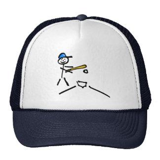 Baseball Stick Figure Trucker Hat