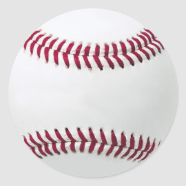 Baseball stickers - Add your message