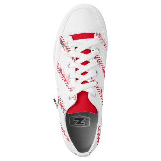 Baseball Stitch Zipz Low Top Shoes