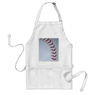 Baseball Stitches Adult Apron