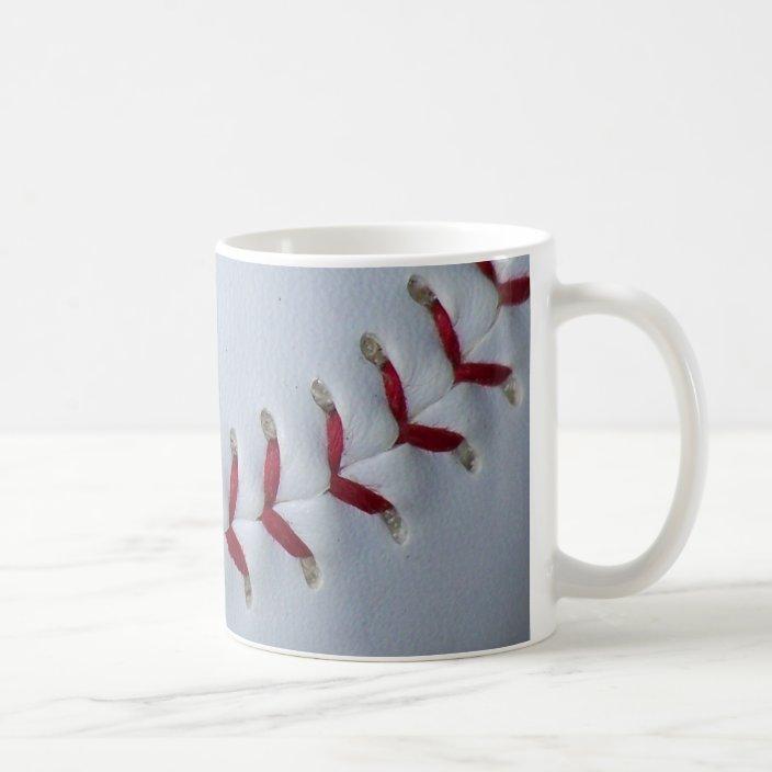 Baseball Stitches Coffee Mug Zazzle Com