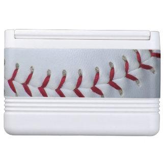 Baseball Stitches Drink Cooler
