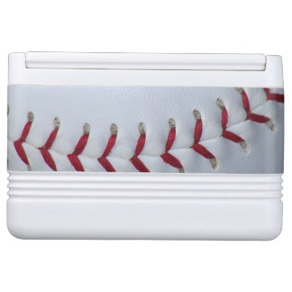 Baseball Stitches Drink Cooler