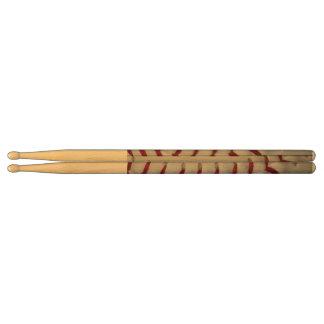 Baseball Stitches Drum Sticks