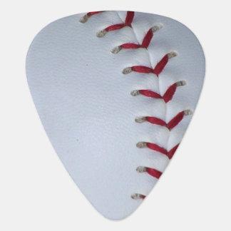 Baseball Stitches Guitar Pick