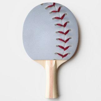 Baseball Stitches Ping-Pong Paddle