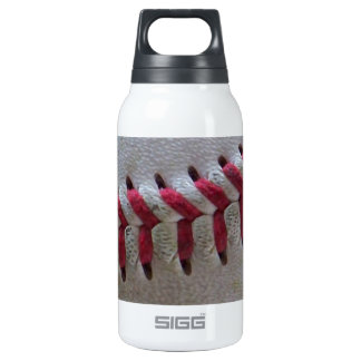Baseball Stitches Insulated Water Bottle