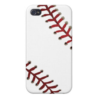 Baseball Stitches iPhone 4/4S Cover