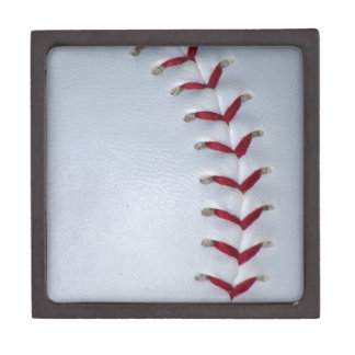 Baseball Stitches Keepsake Box