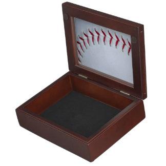 Baseball Stitches Keepsake Box