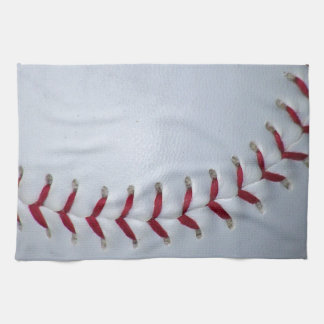 Baseball Stitches Kitchen Towels
