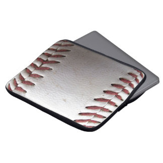 Baseball Stitches Computer Sleeves