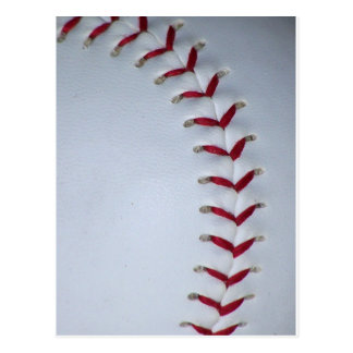 Baseball Stitches Postcard