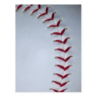 Baseball Stitches Postcard