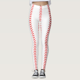 Baseball Stitches (Seams) Leggings