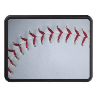 Baseball Stitches Tow Hitch Cover