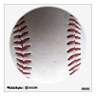 Baseball Stitches Room Stickers