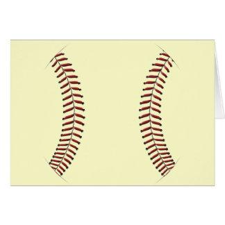 Baseball Stitching Card