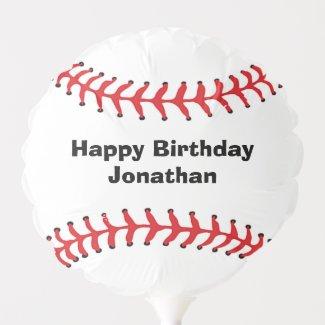 Baseball Stitching Design Balloon