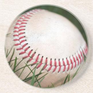 Baseball Stitching Drink Coaster