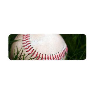 Baseball Stitching Label