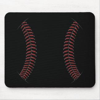 Baseball Stitching Mouse Pad