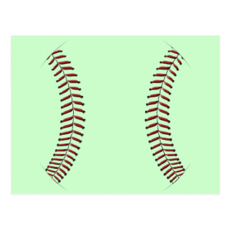Baseball Stitching Postcard