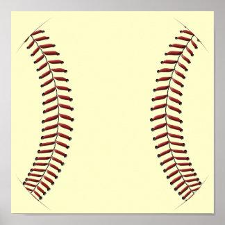 Baseball Stitching Posters