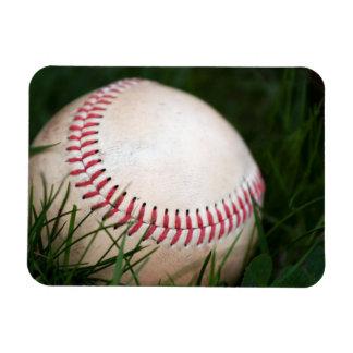 Baseball Stitching Rectangular Photo Magnet