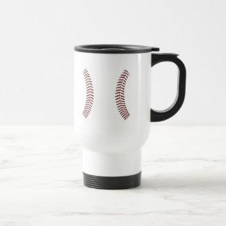 Baseball Stitching Travel Mug
