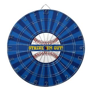 "Baseball Strike ""Em Out Dart Board"