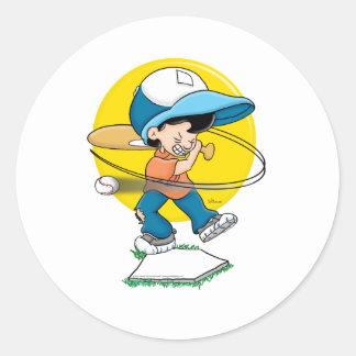 Baseball Strike Three! Sticker