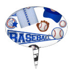 Baseball Stuff Cake Toppers