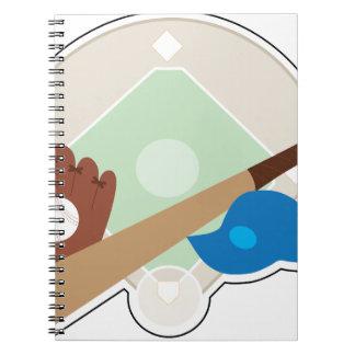 Baseball Stuff Notebook