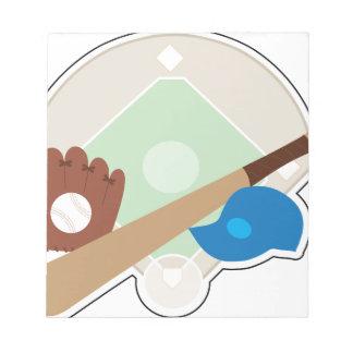 Baseball Stuff Notepad