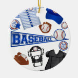 Baseball Stuff Ornaments